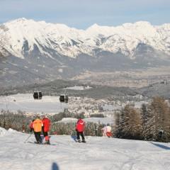 Wintersport auf der Muttereralm